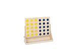 Bild von Groot houten Vier op een rij spel XL Reuzenformaat spel Van Dijk toys