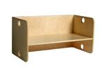 Afbeeldingen van Kleutergroep Kubusbank - kinderbank hout blank  groepsgebruik  1-8 jaar Van Dijk Toys
