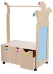 Afbeeldingen van Professioneel houten Verkleedmeubel Kroonlijn Van Dijk Toys