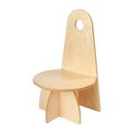 Afbeeldingen van Kleuter stoel Apollo naturel Van Dijk Toys