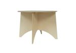 Afbeeldingen van Kleuter tafel Apollo blank hout Van Dijk Toys