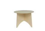 Afbeeldingen van Peuter tafel Apollo blank hout Van Dijk Toys