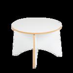 Afbeeldingen van Peuter tafel Apollo wit hout Van Dijk Toys