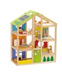 Bild von Open houten poppenhuis inclusief meubels Hape