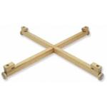 Afbeeldingen van Draaitafel voor spelborden, 37 cm blank hout