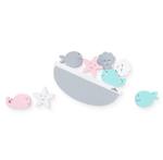 Afbeeldingen van Balansspel zeedieren pastel Jollein