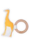 Afbeeldingen van Bijtring Ø 7 cm safari giraf  Jollein