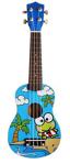 Afbeeldingen van Ukelele gitaar 4-snaren Print Kikker Calista