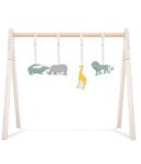 Afbeeldingen van Babygym speeltjes stof  safari Jollein