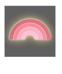 Afbeeldingen van Wandlamp Regenboog roze Led Jollein