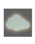 Afbeeldingen van Wandlamp Wolk groen Led Jollein