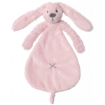 Afbeeldingen van Knuffeldoekje konijn Richie zacht roze Happy Horse