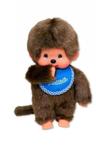 Bild von Monchhichi jongen blauwe slab 20 cm