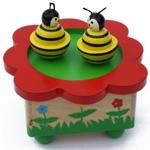 Afbeeldingen van Muziekdoosje dansende bijen
