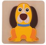 Afbeeldingen van Mijn 1e puzzel Hondje Joueco