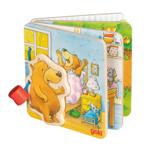 Afbeeldingen van Houten plaatjes boekje Kleine beer Goki