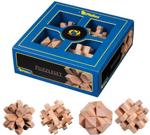 Bild von 4 houten 3D puzzels  in kado-doos Philos
