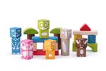 Afbeeldingen van Bouwblokken 26 stuks Figuren Woody