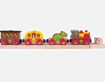 Afbeeldingen van Houten trein Riddertrein Drakentrein Bigjigs