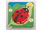 Afbeeldingen van Levenscyclus lagenpuzzel Lieveheersbeestje