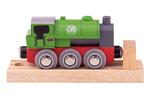 Afbeeldingen van Houten trein locomotief Saddle Bigjigs