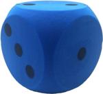 Afbeeldingen van Dobbelsteen Foam Blauw 15 cm