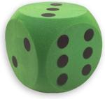 Afbeeldingen van Dobbelsteen Foam Groen 15 cm