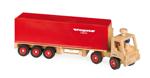 Afbeeldingen van Trailer, vrachtwagen met oplegger 65 cm Fagus Classic