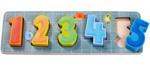 Afbeeldingen van Houten puzzel Tellen maar 1 tot 5 Haba