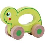 Afbeeldingen van Houten grijpauto rollende schildpad