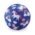 Afbeeldingen van Speel bal natuurrubber Unicorn Eenhoorn Ø 13 cm