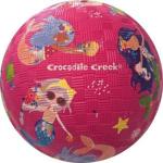 Afbeeldingen van Speel bal natuurrubber Mermaiids zeemeermin Ø 13 cm