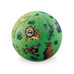 Afbeeldingen van Speel bal natuurrubber Wilde dieren Ø 13 cm