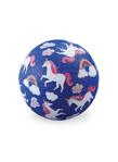 Afbeeldingen van Speel bal natuurrubber Unicorn Eenhoorn Ø 18 cm